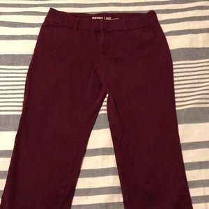 Purple Old Navy Pixie Pants